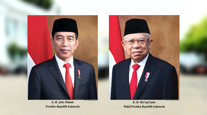 Terbit Foto Resmi Presiden Dan Wakil Presiden Rl Periode 2019 2024 Patroli Borgol