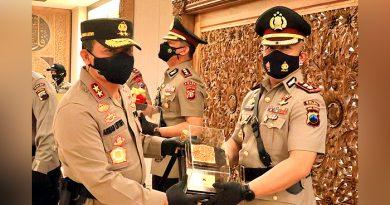 Kapolda Jateng Pimpin Sertijab, AKBP Budi Adhy Buono Jabat Kapolres Demak