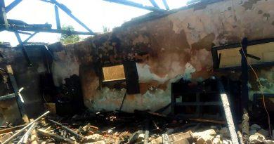 Korban Kebakaran di Desa Sirnasari Garut Dapat Bantuan dari Pemerintah dan Partai