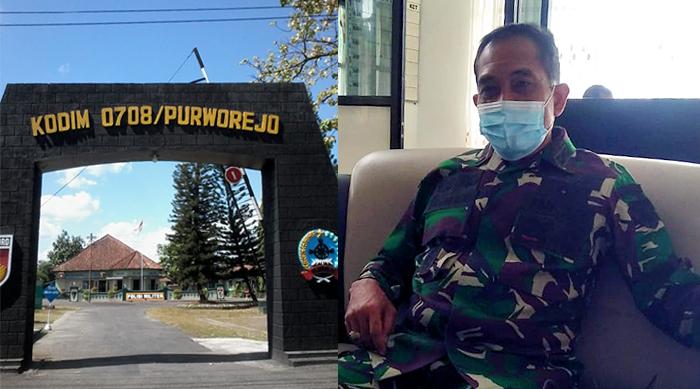 Kodim 0708 Purworejo Bantu Program Percepatan Vaksinasi Covid-19