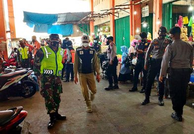 Tim Gabungan TNI, Polri, Dishub, Satpol PP Terus Gelar Penegakkan Prokes di Demak