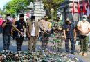 Cegah Aksi Kejahatan di Demak, Ribuan Botol Miras Berbagai Merk Dimusnahkan