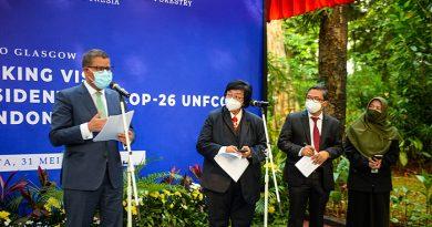 Presiden COP-26 Glasgow Untuk Iklim: Indonesia Negara Penting!