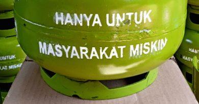 Garut Dapat Alokasi Tambahan 54 Tibu Tabung Gas Melon LPG 3 Kilogram