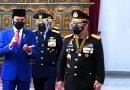 Peringati Hari Bhayangkara ke 75, Presiden Minta Polri Jadi Abdi Utama Nusa dan Bangsa
