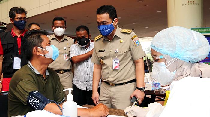 Wagub DKI Jakarta Minta Warga Dukung Penuh Gerakan Vaksinasi Bangun Kekebalan Komunal