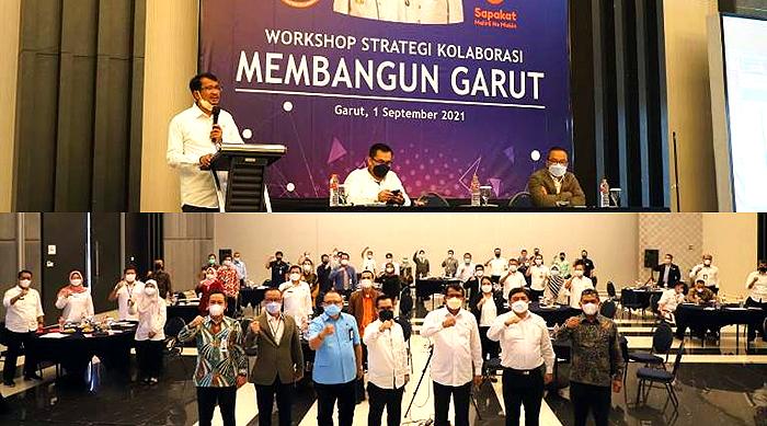 Workshop Strategi Kolaborasi Membangun Garut, Wabup: Potensi yang Ada Harus Bersatu