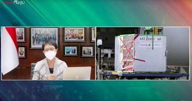 1,5 Juta Dosis Vaksin Moderna Tahap 2 dari AS Tiba di Indonesia
