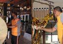 Ratusan Polisi Gelar Baksos Bersihkan Masjid Agung Demak