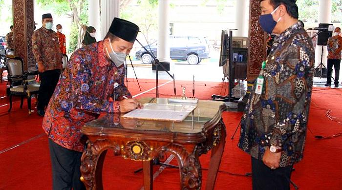 Dilantik Bupati Rembang, Fahrudin Resmi Jabat Sekda